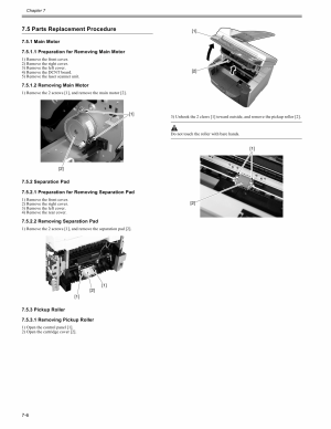 Canon imageCLASS MF4150 Service and Parts Manual